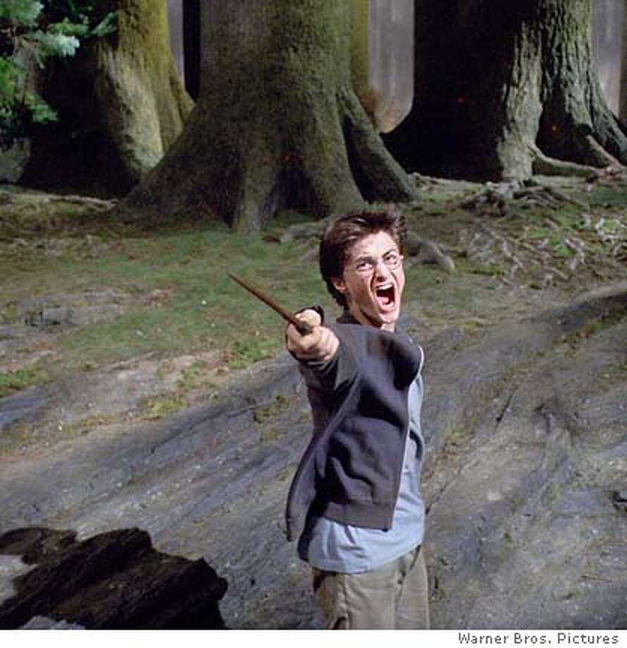 Daniel Radcliffe as Harry Potter in Warner Bros. Pictures fantasy Harry Potter and the Prisoner of Azkaban. (AP Photo/Warner Bros.)