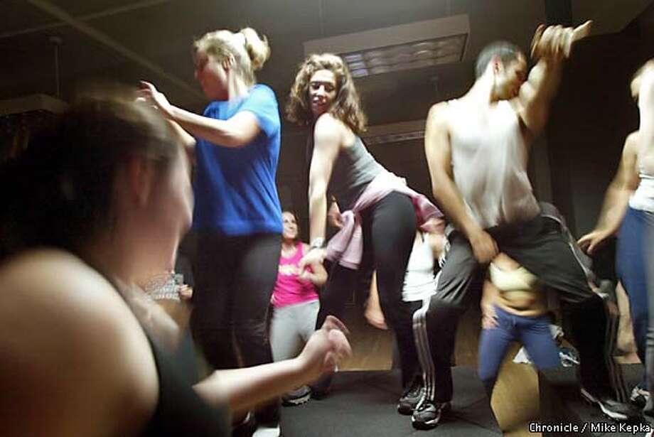 Aerobic area bay class francisco san strip tease