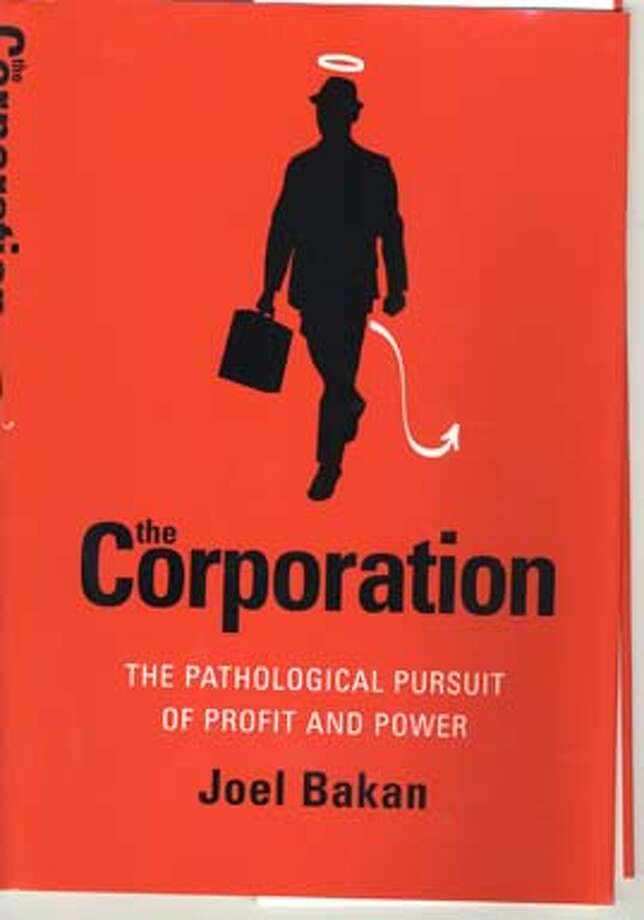"Cover of, ""The Corporation"" by Joel Bakan."
