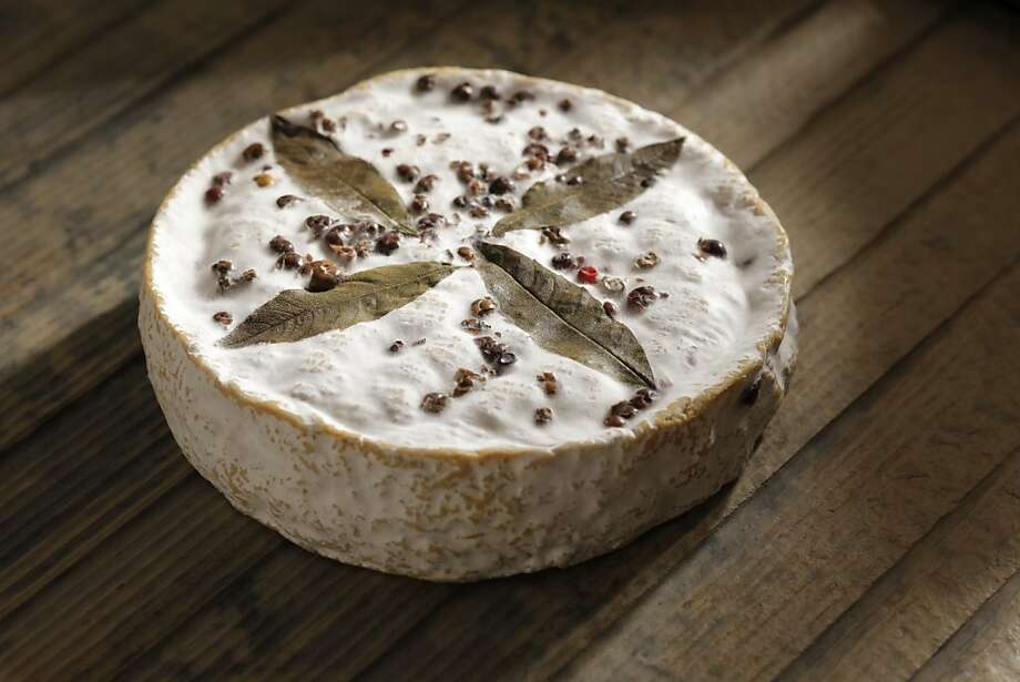 Redwood Hill Cameo, a bloomy-rind goat cheese from Sonoma County as seen in San Francisco, California on Wednesday, January 11, 2012. Photo: Craig Lee, Special To The Chronicle
