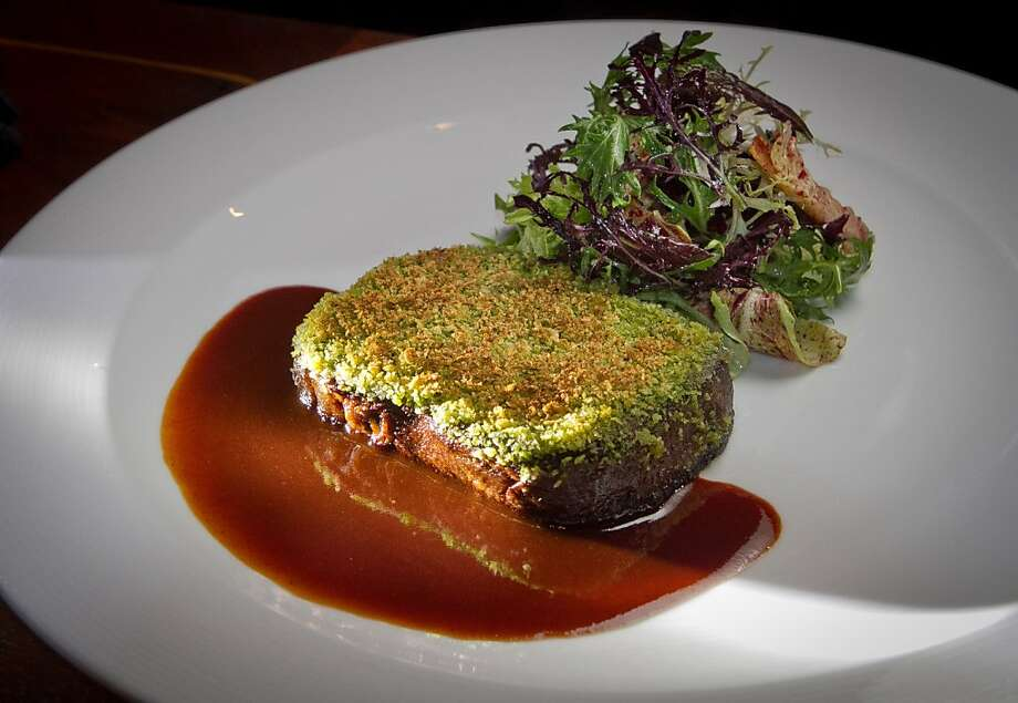 The beef tongue persillade is an outstanding dish. Photo: John Storey, Special To The Chronicle