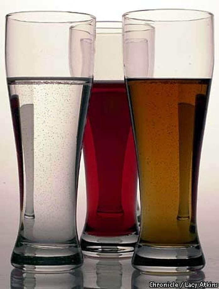 Malternatives: beer alternatives with 5% alchohol. Chronicle photo by Lacy Atkins