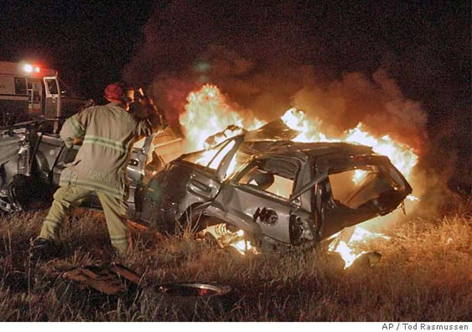 VACAVILLE / Fiery crash on I-80 claims 4 lives -- CHP