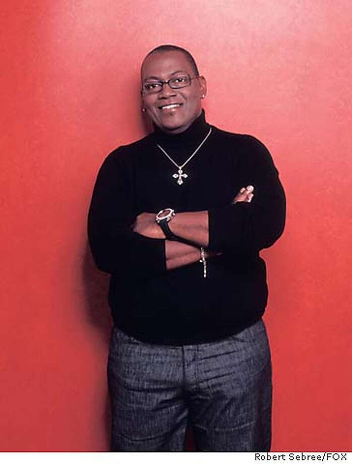 AMERICAN IDOL: Judge Randy Jackson of AMERICAN IDOL. The third season of AMERICAN IDOL premieres Monday, January 19 (8:00-9:00 PM ET/PT) on FOX. ��2003 FOX Broadcasting Co. Cr: Robert Sebree/FOX