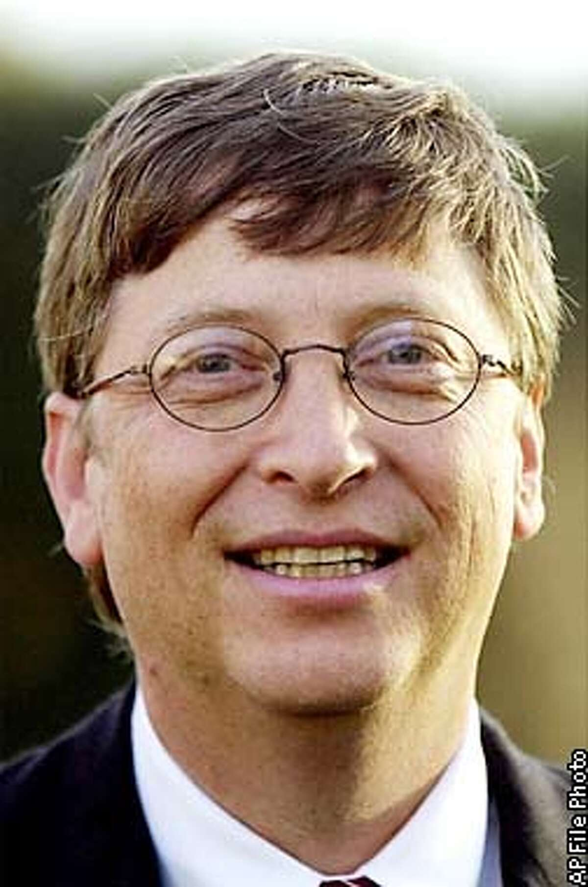 Bill Gates, 47, Microsofts chief executive officer. A federal judge approved most of the provisions of an antitrust settlement between Microsoft Corp. and the Justice Department, largely setting aside concerns by some states that the sanctions were too light on the software giant Friday, Nov. 1, 2002 in Washington. (AP Photo/File)