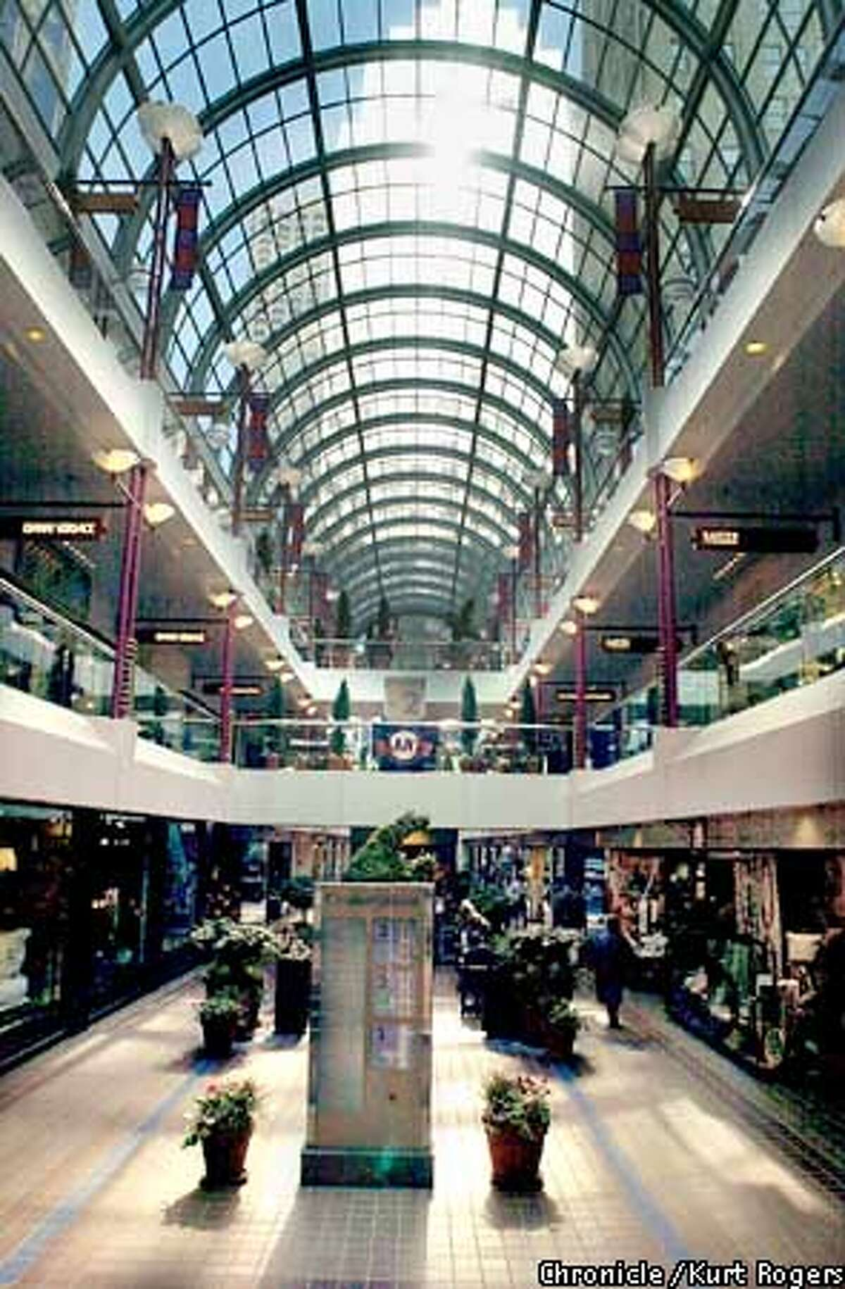 The Crocker Galleria is readying for a 20th anniversary celebration just as several high-profile retailers are bolting.Photo By Kurt Rogers