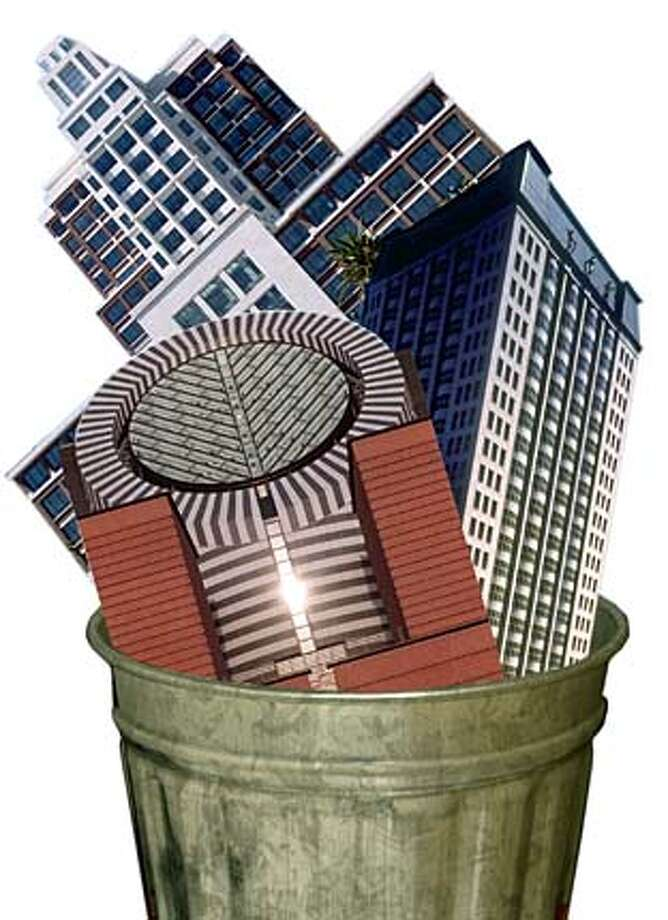 Starchitecture: Why does the Bay Area confound the best architects? Photo-illustration by Russell Yip
