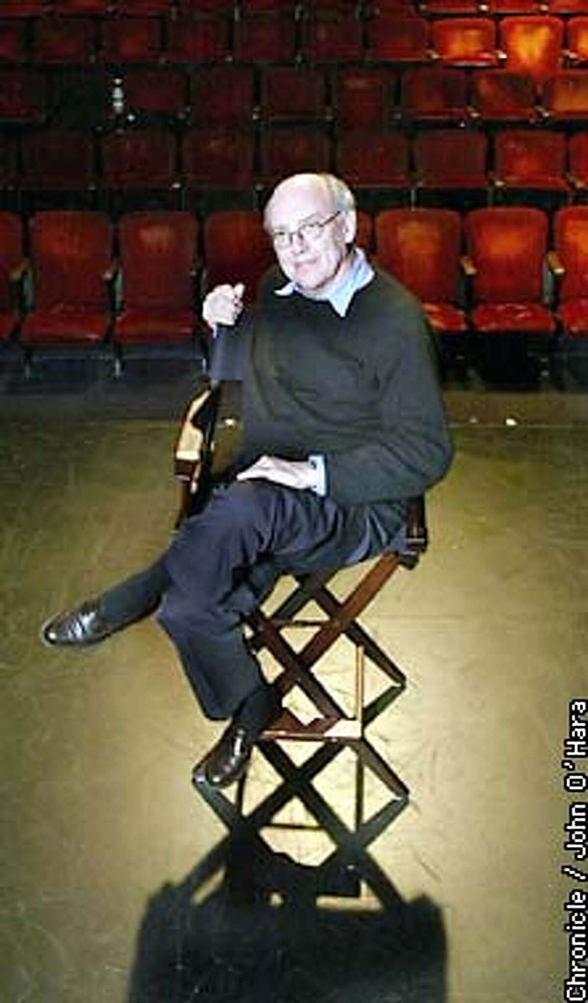 """New Conservatory Theater, 25 Van ness Ave. San Francisco. Mart Crowley, playwright """"Boys and the Band"""". has written the sequel. photo/John O'Hara"""