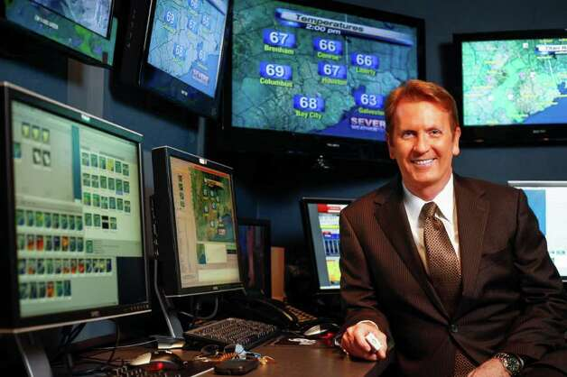 Frank Billingsley is chief meteorologist at KPRC (Channel 2).  Photo: Michael Paulsen / © 2011 Houston Chronicle