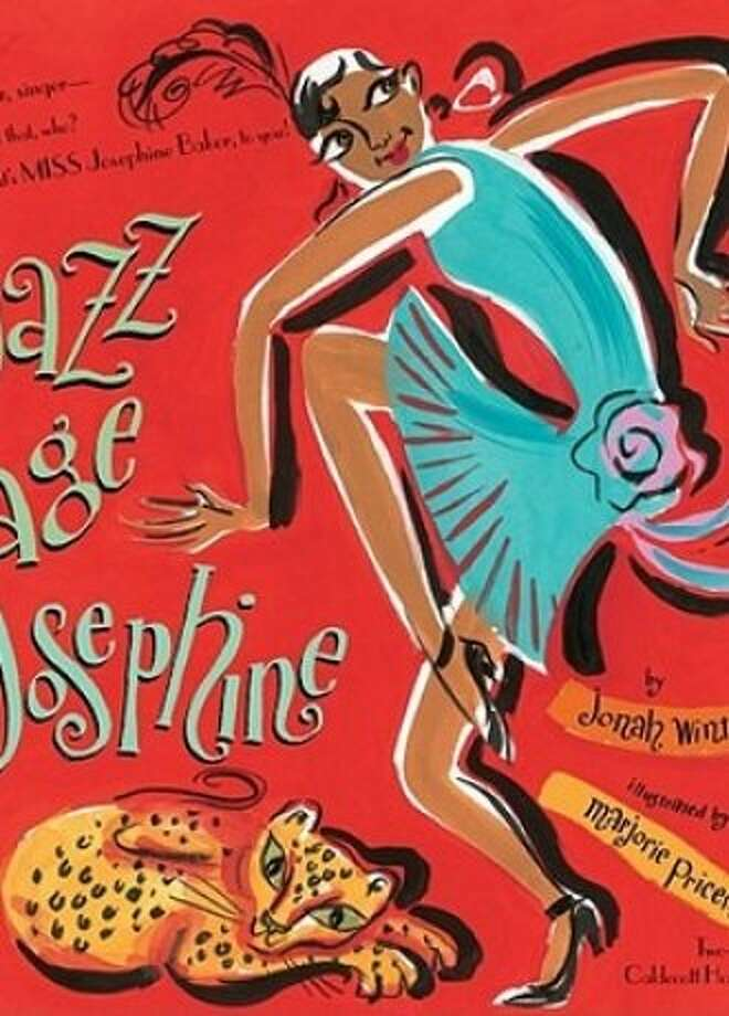 """""""Jazz Age Josephine"""" by Jonah Winter and illustrated by two-time Caldecott honoree Marjorie Priceman Photo: Atheneum"""