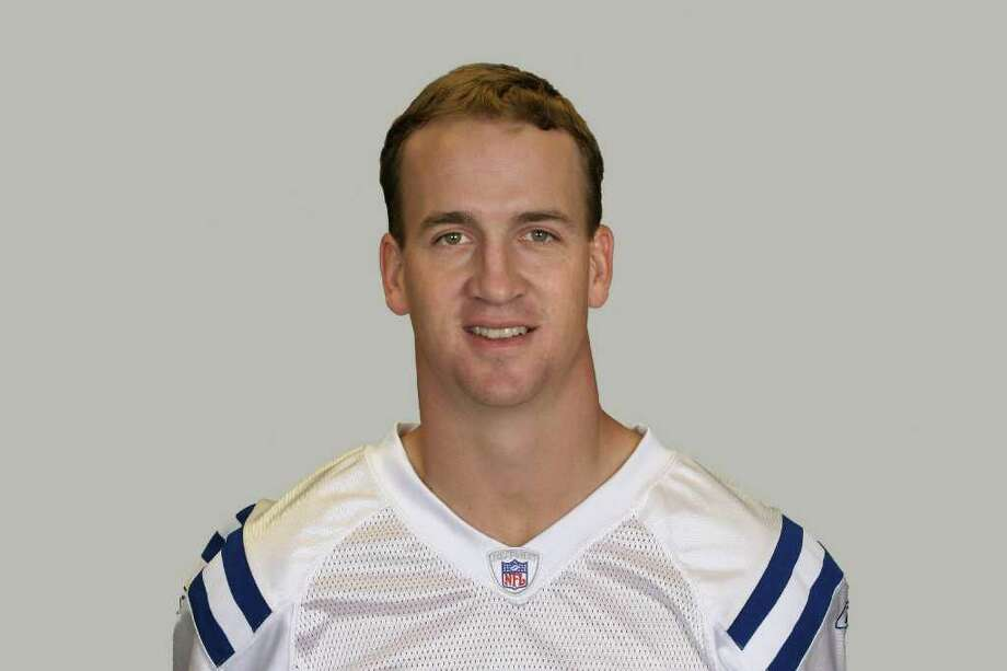 This is a photo of Peyton Manning of the Indianapolis Colts NFL football team. This image reflects the Indianapolis Colts active roster as of Tuesday, Aug. 9, 2011. (AP Photo) Photo: Anonymous / AP2008
