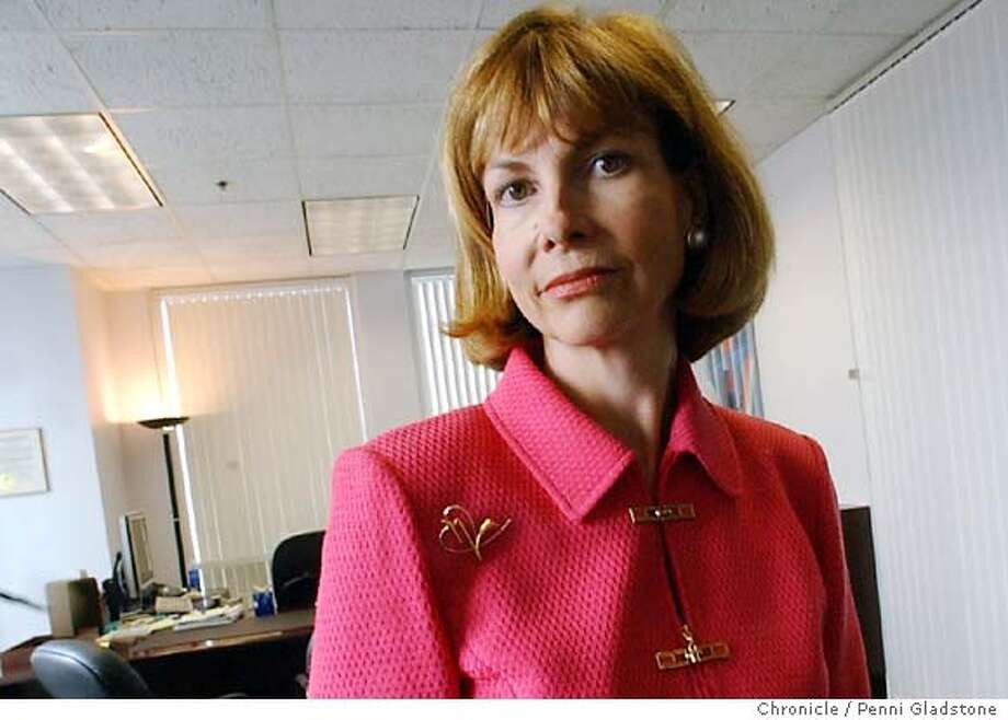 HMOCZARXX051_pg.jpg  Cindy Ehnes, director of the dept. of managed health care 4/5/04 in Sacramento.  Penni Gladstone / The Chronicle Photo: Penni Gladstone