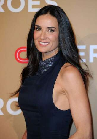 Actress Demi Moore gets better with age like wine does. Photo: Frazer Harrison / 2010 Getty Images