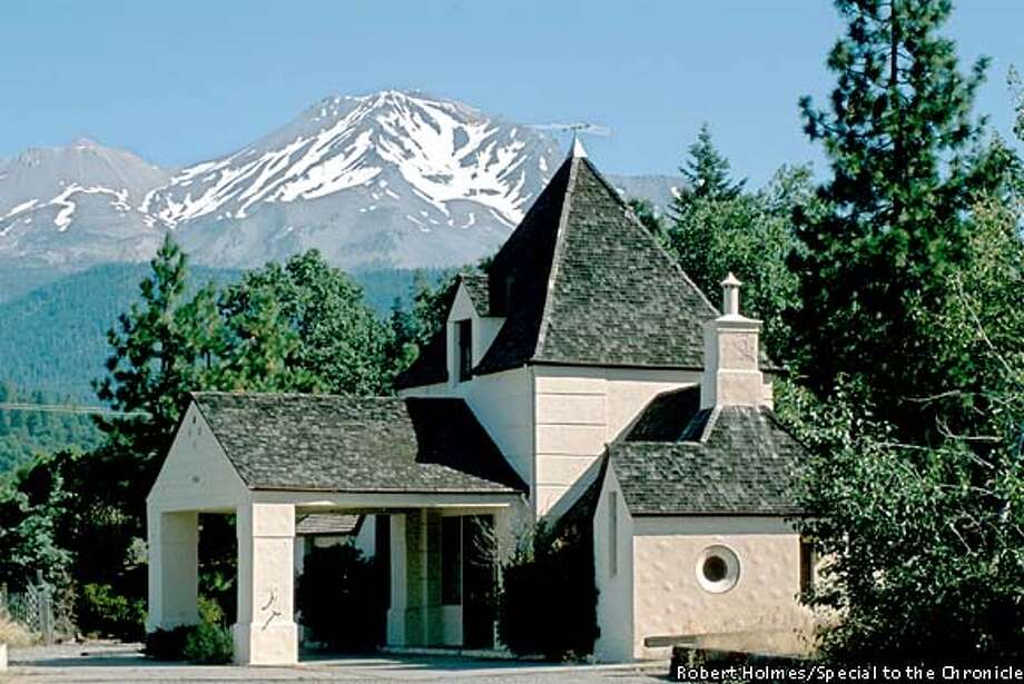 Higher power: Mount Shasta City sits in the shadow of its namesake mountain, where legend has it that an ancient race called the Lemurians formed a mystical brotherhood. Photo by Bob Holmes, special to the Chronicle