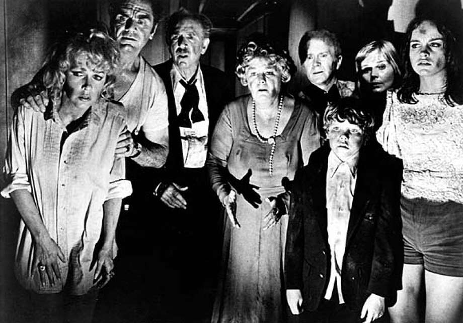 "Shelley Winters (center) has an unexpectedly heroic moment in ""The Poseidon Adventure."""