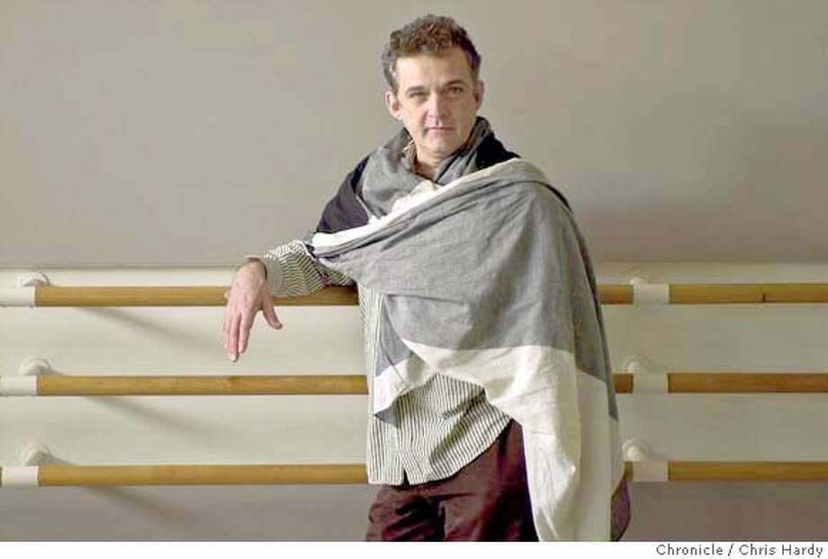 Choreographer Mark Morris who has a new ballet, Sylvia premiering next week.  Event on 4/21/04 in San Francisco.  Chris Hardy / San Francisco Chronicle Photo: Chris Hardy