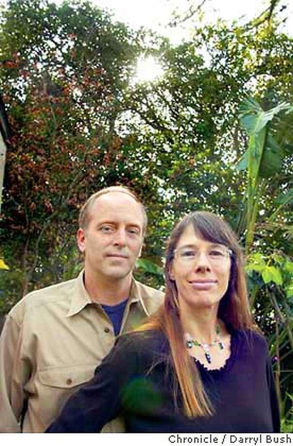 Wes Boyd and Joan Blades, founders of Moveon.org in Berkeley. Chronicle Photo by Darryl Bush Photo: Darryl Bush
