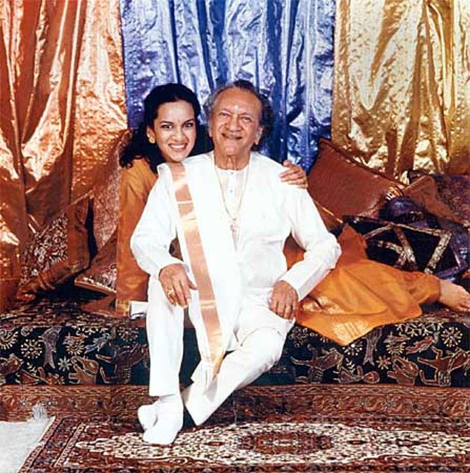 Ravi and Anoushka Shankar. Photo: HANDOUT