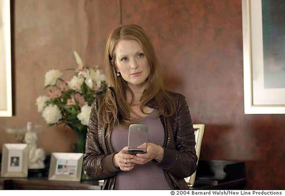 Julianne Moore as Audrey Woods in New Line Cinema�s romantic comedy, Laws of Attraction Photo Credit: � 2004 Bernard Walsh/New Line Productions Laws of Attraction Photo: Bernard Walsh