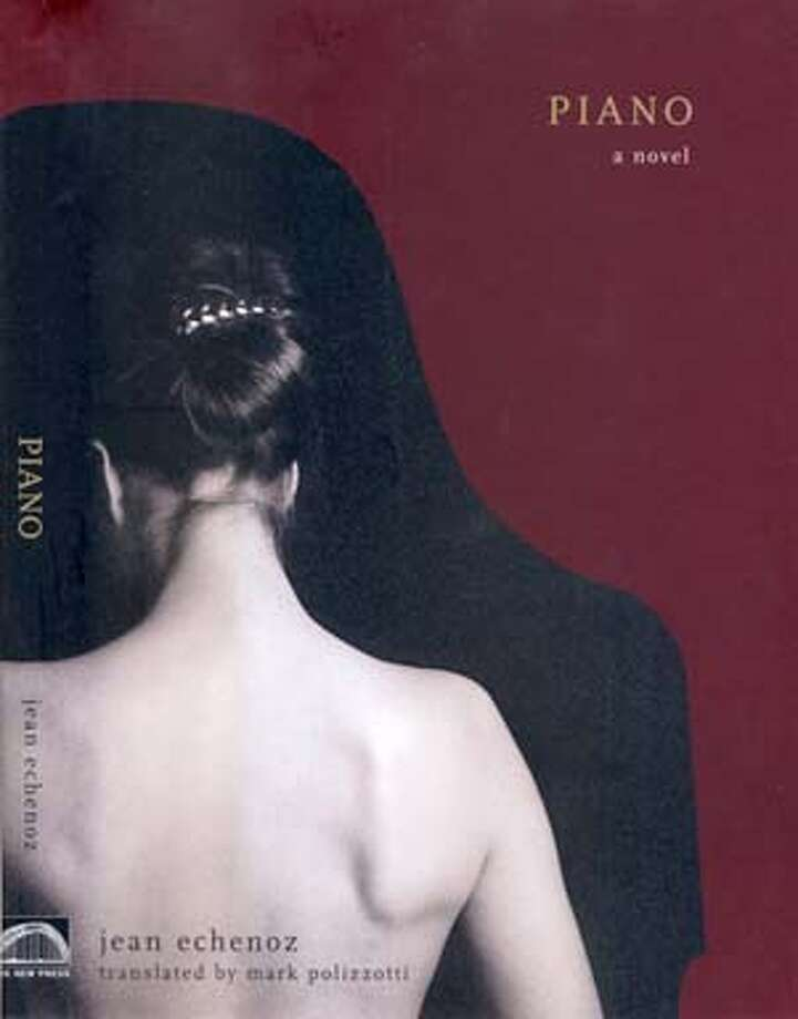 "Cover art for ""Piano"" by Jean Echenoz."