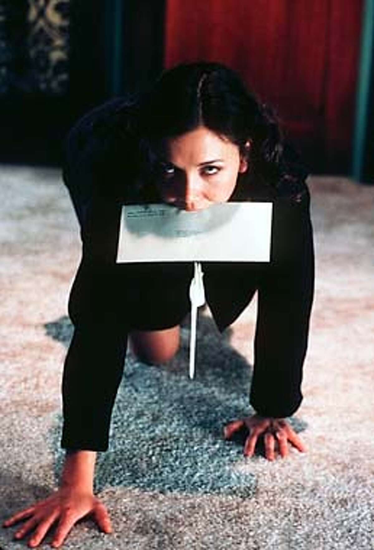 You're the boss: Maggie Gyllenhaal in
