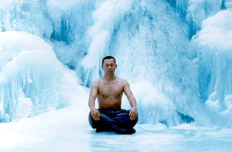 Kim Ki-duk as Adult Monk in SPRING, SUMMER, FALL, WINTER, AND...SPRING.