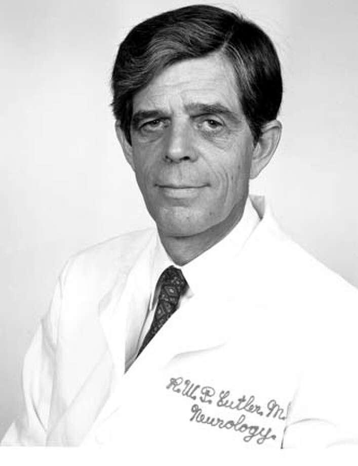 Robert Cutler -- neurologist at Stanford, author - SFGate