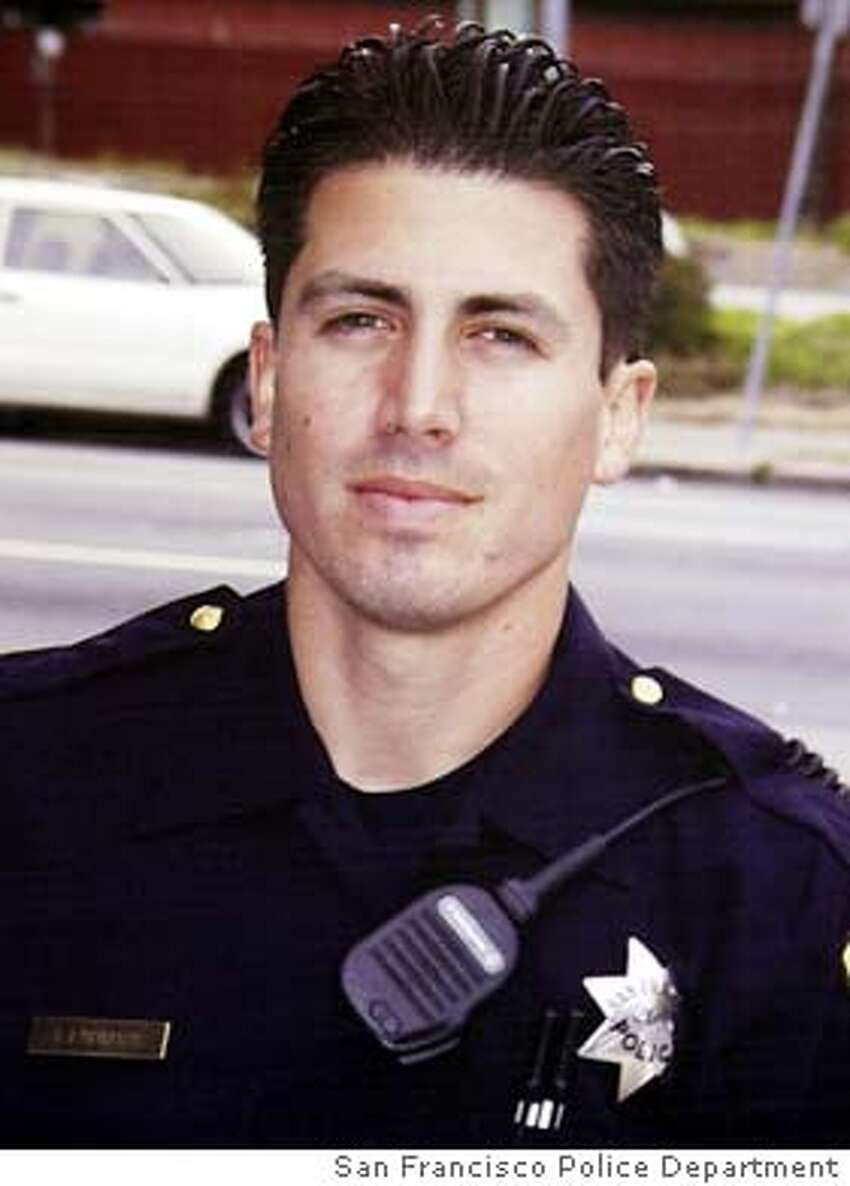 ** FILE **Undated photo of slain San Francisco Police Officer Isaac Espinoza, who was shot Sunday in the Hunterspoint Bayview area of San Francisco. Espinoza, 29, was working undercover in one of the city's most troubled neighborhoods late Saturday when he was shot twice. It was the first killing of an on-duty officer in San Francisco since 1994. (AP Photo/San Francisco Police Dept via The San Francisco Chronicle) Officer Isaac Espinoza was working undercover when he was shot twice and killed.