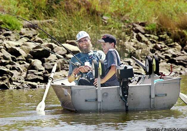 Back on course improvements return napa river to an for Napa river fishing