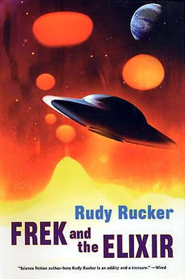 Book cover of FREK AND THE ELIXER