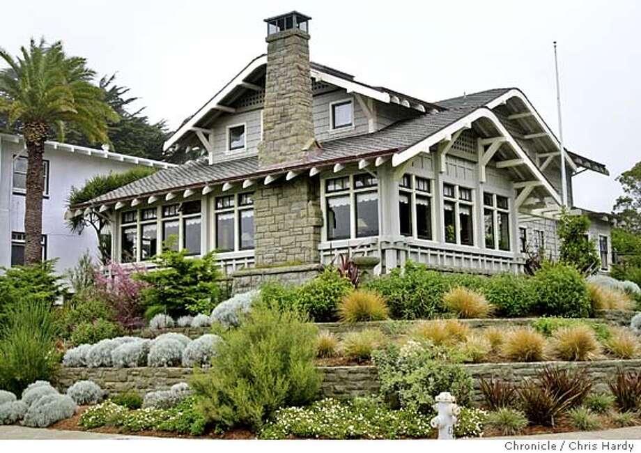 Story on Joseph Leonard, designer of houses in Ingelside Terrace.  Event on 3/29/04 in San Francisco.  Chris Hardy / San Francisco Chronicle Photo: Chris Hardy