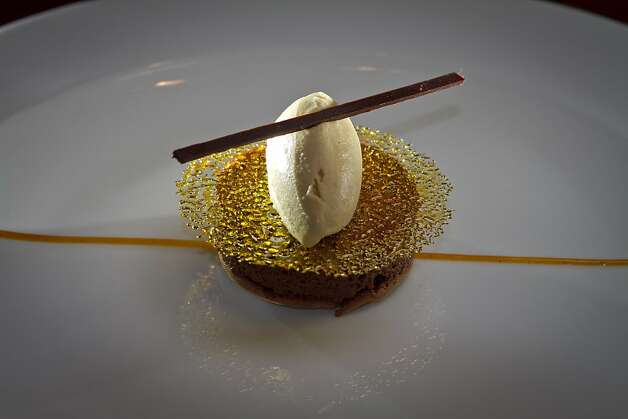 The Gateau Chocolat at Keiko Restaurant in San Francisco, Calif., is seen on Friday, January 20th, 2012. Photo: John Storey, Special To The Chronicle