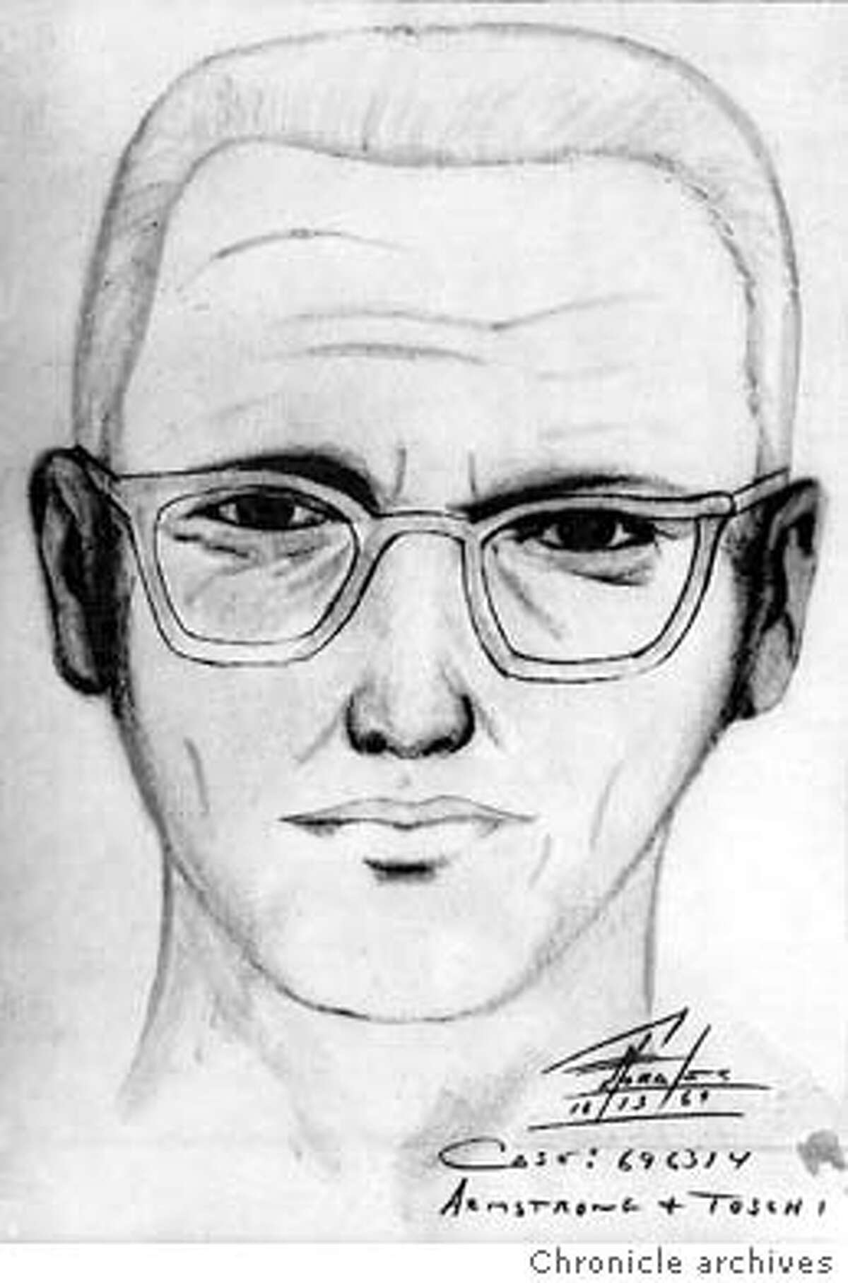 ZODIAC-C-14DEC99-SC-HO--Police sketch of the man suspected of being the