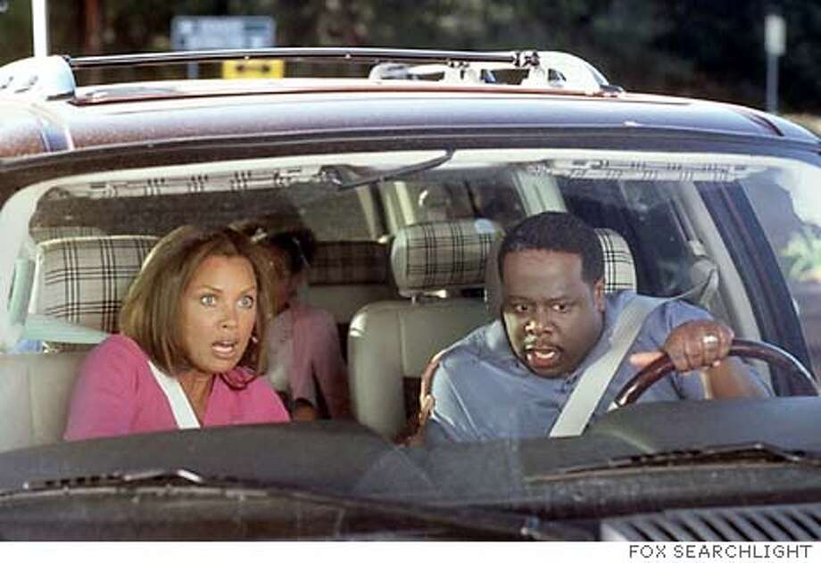 "/ for: Sunday Datebook stills from the movie ""Johnson Family Vacation,"" they are all of Cedric the Entertainer and various costars."