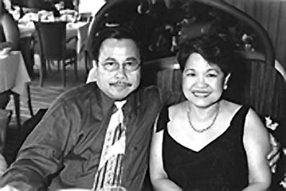 Homicide victim Erlinda Ursua, pictured next to her husband, Lorenzo Ursua.. Lorenzo filed a wrongful-death lawsuit today.