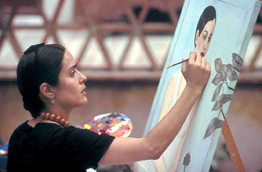 """Frida,"" starring Salma Hayek as painter Frida Kahlo, will open the Mill Valley Film Festival on Oct. 3 at the Rafael Film Center in San Rafael."