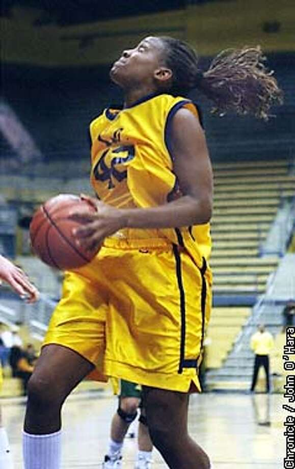 "Berkeley, CA. Harmon Pavillion, Cal women's basketball  ""AMI FORNEY"", F/C 6'-2""  Photo by...........John O""Hara Photo: JOHN O'HARA"