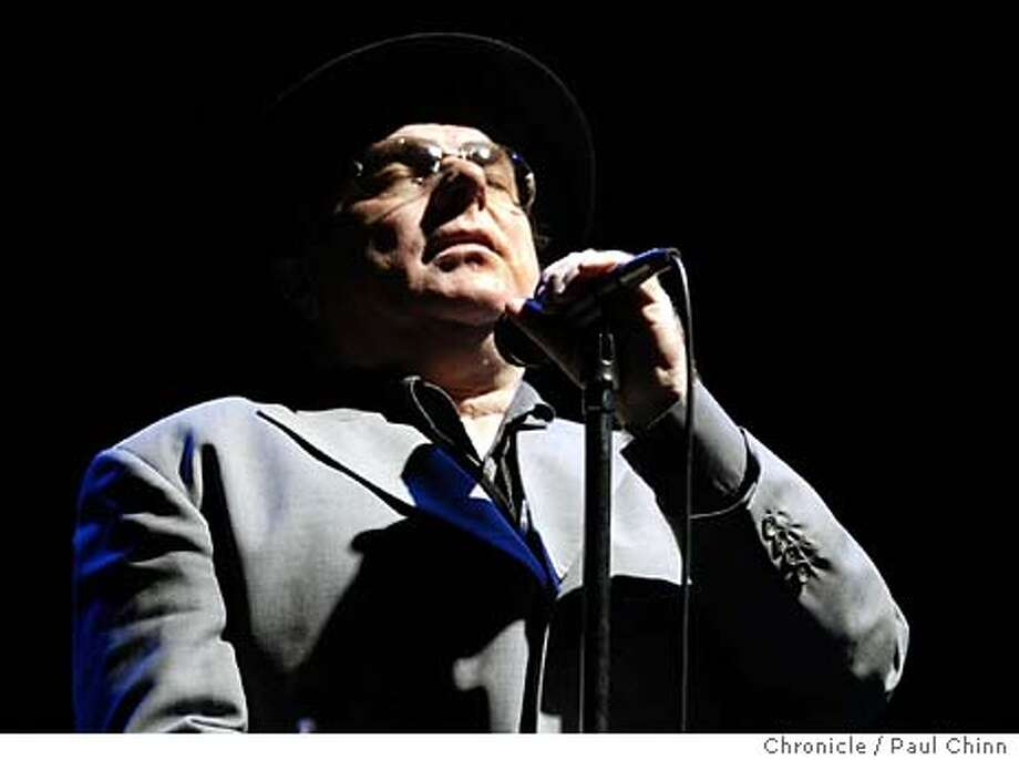 Van Morrison in concert at the Masonic Auditorium on 4/3/04 in San Francisco. PAUL CHINN/The Chronicle Photo: PAUL CHINN