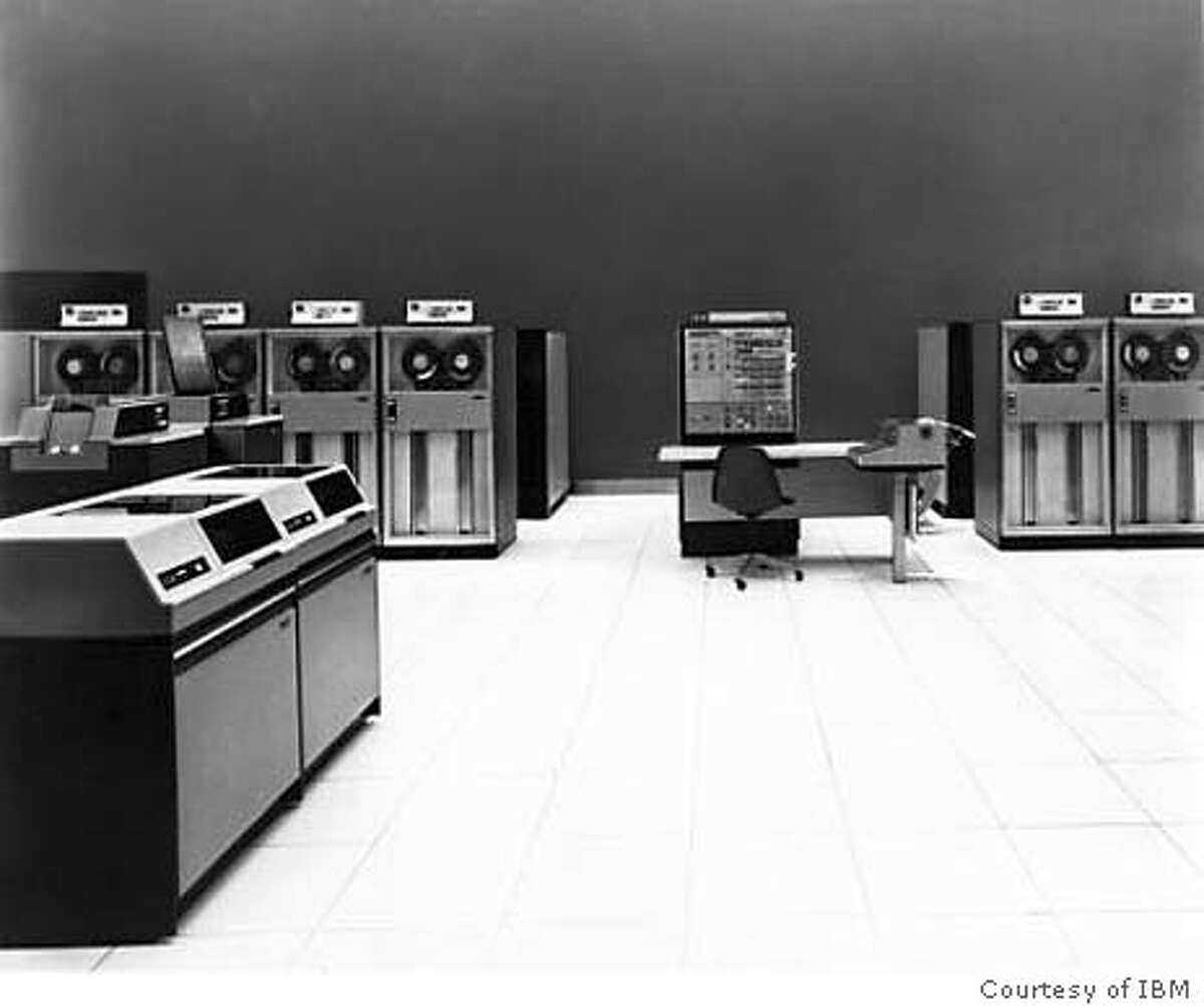 The IBM System/360 mainframe computers revolutionized the business world in the 60s.