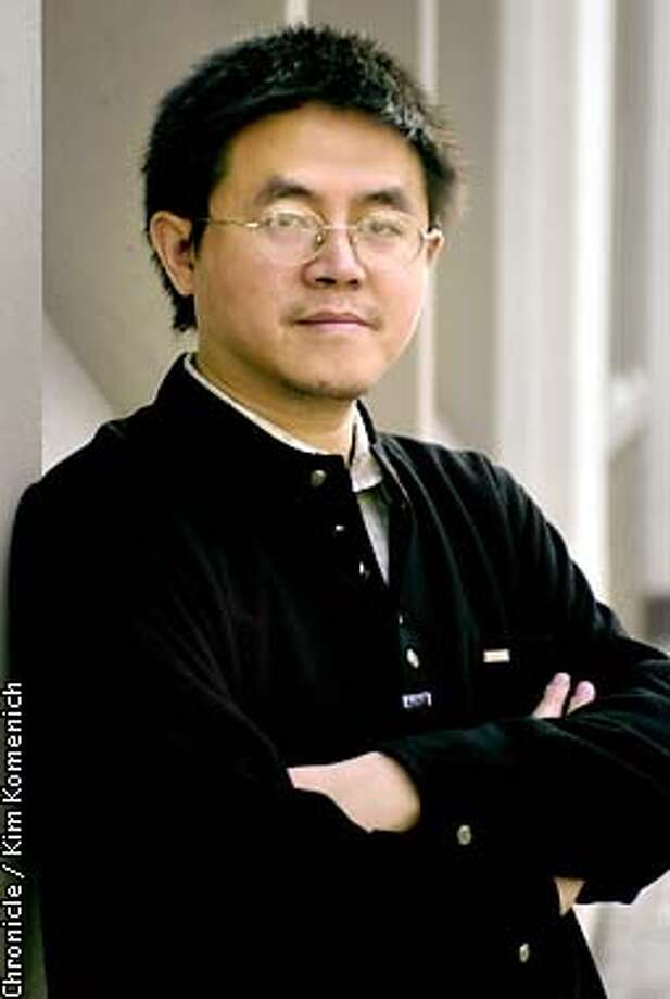 Dr. Wan Yanhai was jailed by the Chinese government for his activism on AIDS issues, including releasing sensitive information to journalists. He is visiting San Francisco.  CHRONICLE PHOTO BY KIM KOMENICH Photo: KIM KOMENICH