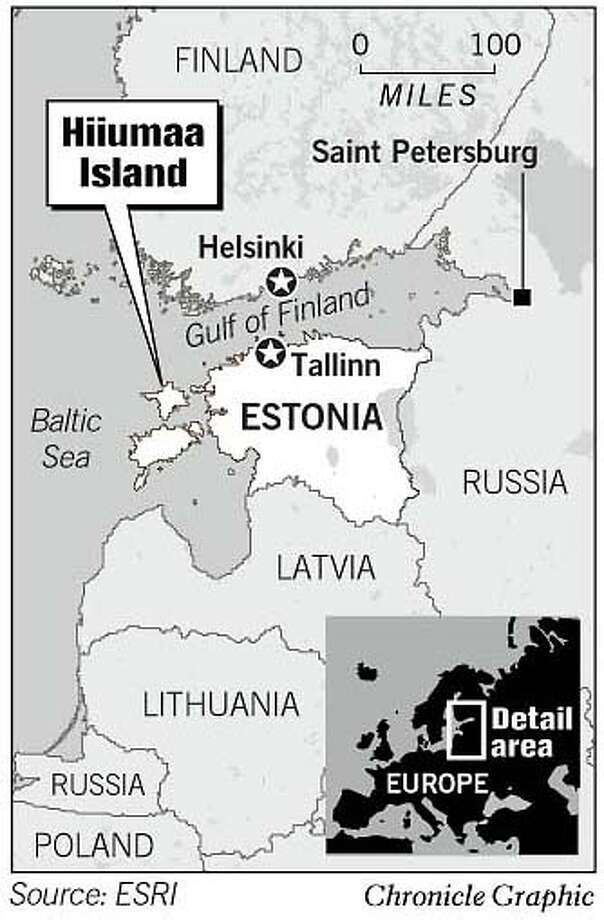 Estonia. Chronicle Graphic Photo: Todd Trumbull