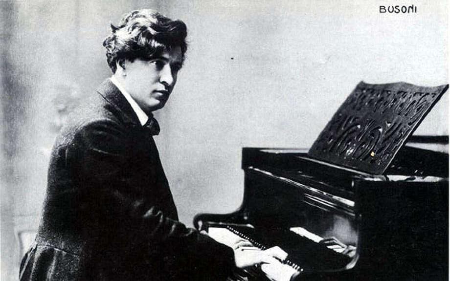 Italian opera composer Ferruccio Busoni.  �