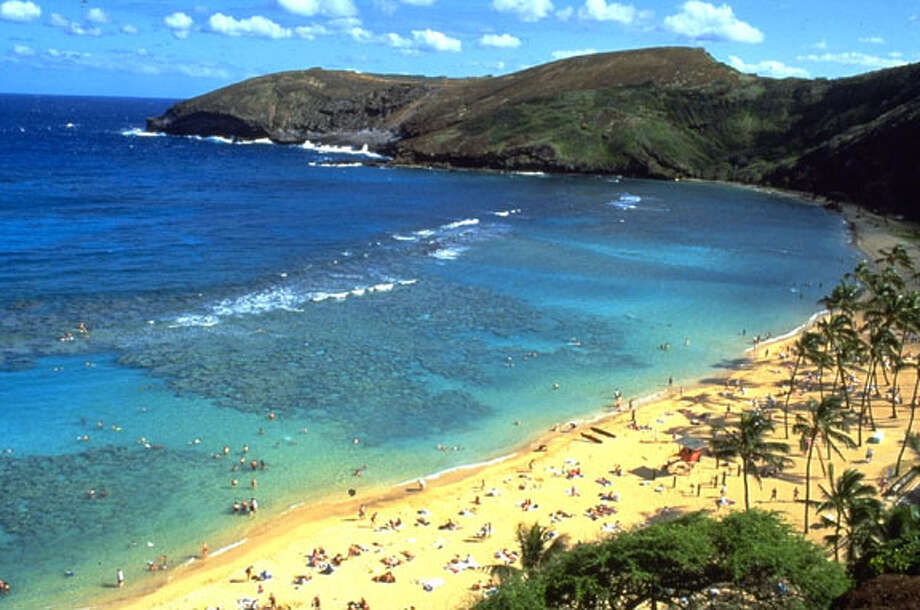 Hanauma Bay in Hawaii attracts thousands of visitors who come to snorkel in its reefs, but the measures in place to protect its fragile beauty have now won it the acclaim of a national beach expert. Photo courtesy of Oahu Visitors BureauCAT