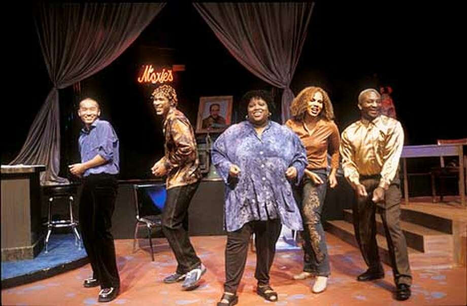 "The cast of ""Hair Story"" by Steve Savage. Photo: HO"