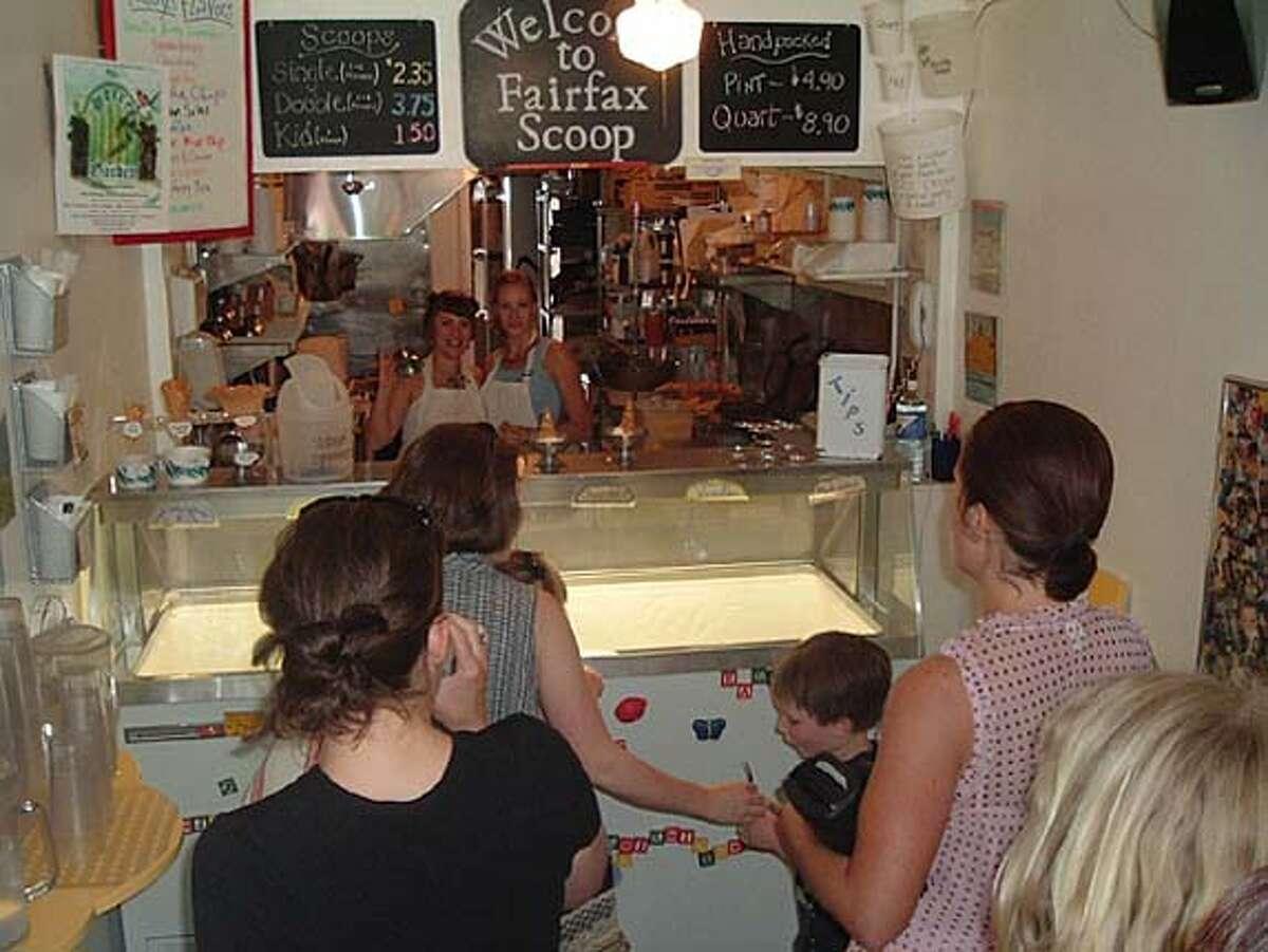 Fairfax Scoop ice cream shop