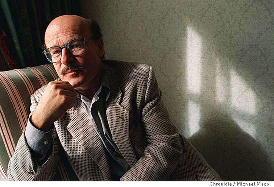 "SCHLONDORFF/C/18FEB98/DD/MACOR German Film director who won an Osacar for his 1980 project ""Tin Drum"" has a new movie comming out called ""Palmetto"". Chronicle Photo: MIchael Macor Photo: MICHAEL MACORSTAFF"