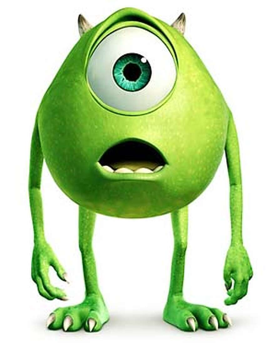 Mike from Pixar's