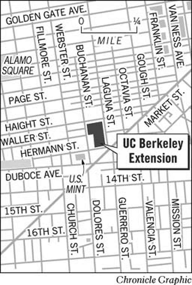 UC Berkeley Extension. Chronicle Graphic Photo: Jack Ivers