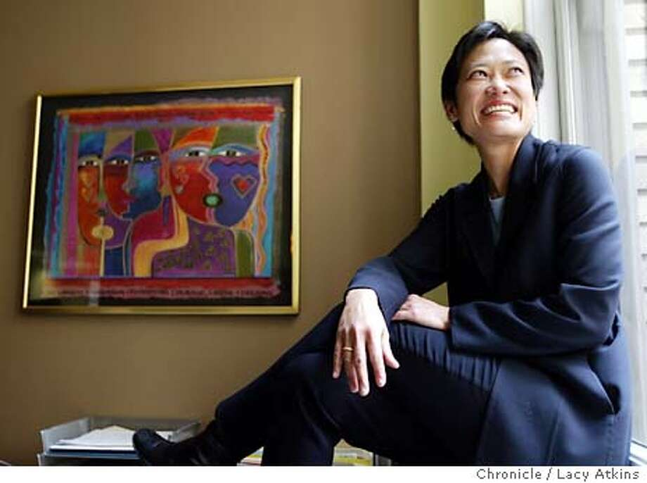 Patti Chang, CEO for the Women's Foundation a new firm after merging the Losa Angeles Women's Foundation and the San Francisco foundation, in San Francisco Tuesday March 30,2004.(THEY DIDN'T HAVE A NEW LOGO)  LACY ATKINS / The Chronicle Photo: LACY ATKINS