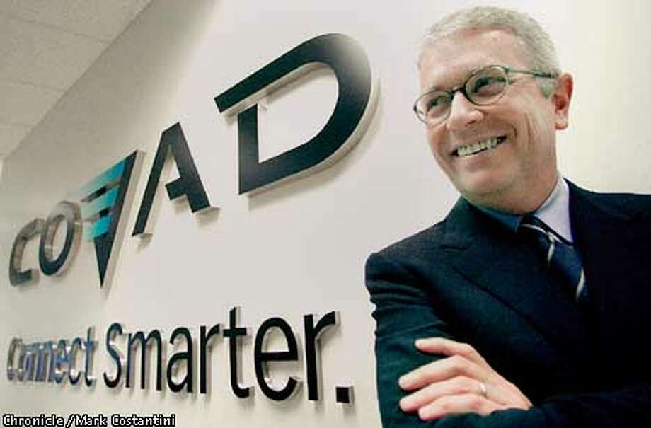 COVAD CEO CHARLES HOFFMAN AT THE COMPANY'S SANTA CLARA OFFICE. PHOTO: MARK COSTANTINI/THE CHRONICLE Photo: MARK COSTANTINI